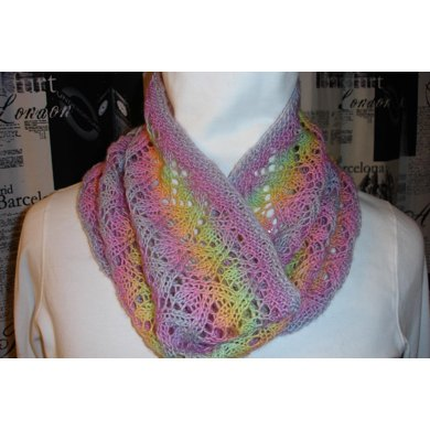 Summer Lace Cowl Knitting Pattern By Carol Beliveau Knitting