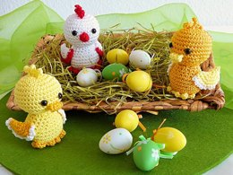 Easter Chicklet and Ducklings