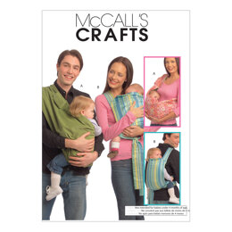 McCall's Baby Carriers M5678 - Sewing Pattern