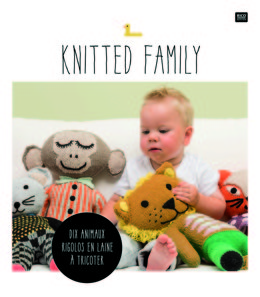 Knitted Family F by Rico Design