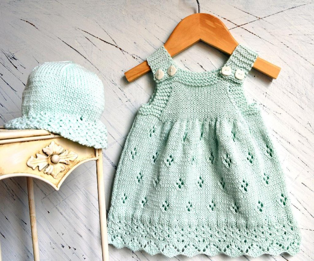 Dress knitting patterns loveknitting sun dress with matching sun hat p078 bankloansurffo Image collections