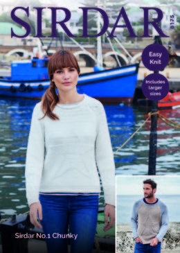 Jumpers in Sirdar No.1 Chunky  - 8175 - Downloadable PDF