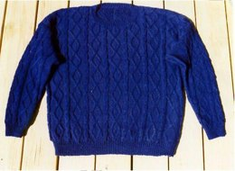 Seaman Cabled Pullover