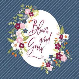 Riley Blake Bloom and Grow  - RBP10116N