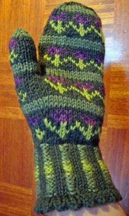 Tidy Flowers Fair Isle Mittens