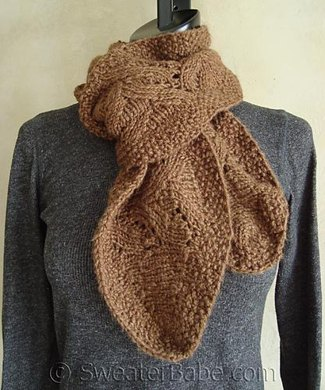 97 Chic Ruffled Edge Scarf Knitting Pattern By Sweaterbabe Com
