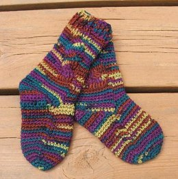 Child's Cable Socks