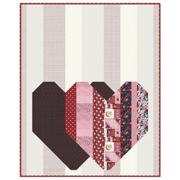 Riley Blake Pop Heart Quilt Kit