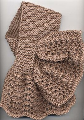 Criss Cross Lace Scarf Knitting Pattern By Anne Hanson Knitting