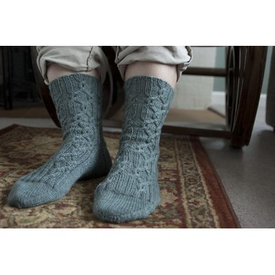 Red Rover Cable Socks