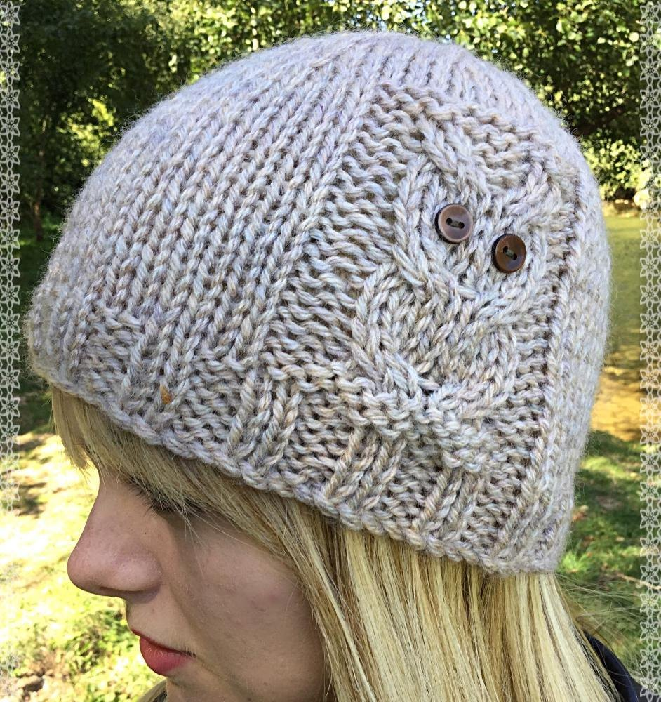 Knitting Pattern For Owl Beanie : Owl Beanie 4 sizes Knitting pattern by The Lonely Sea