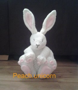Bunny Rabbit Amigurumi Pillow / Cushion