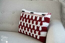 Pebbled Archway Reversible Rectangle Pillow Cover