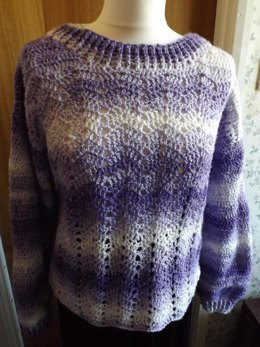 No 14 Chevron Jumper