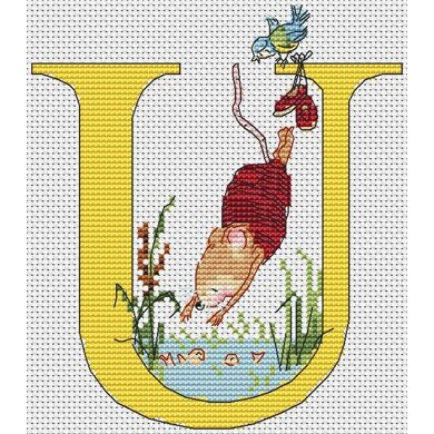 Seraphina Cross Stitch A-Z Alphabet Collection