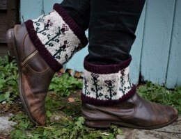 Thistle Boot Cuffs