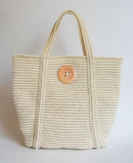Tapestry crochet basic tote