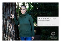 """Mountain Calling Jumper by Sloane Rosenthal"" - Jumper Knitting Pattern For Women in The Yarn Collective"
