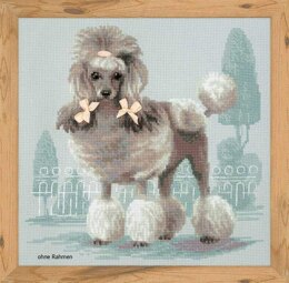 Riolis Poodle Cross Stitch Kit - R1635