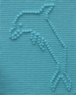Dolphin Baby Blanket