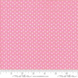 Moda Fabrics First Romance Cut to Length - Sweet Pea Floral He Loves Me - Pink