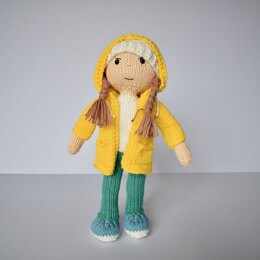 Paintbox Yarns Greta Thunberg Doll 6 Ball Colour Pack