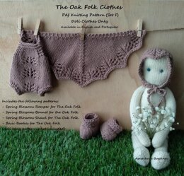 Clothes for The Oak Folk Set F