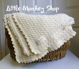 Pure and Simple Baby Blanket