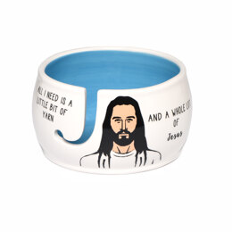 Lenny Mud Jesus Yarn Bowl