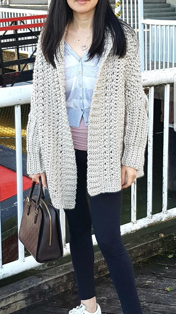 City Chic Fold Over Shrug Crochet Pattern By Nicole Wang