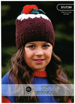 Hat in DY Choice DK with Wool - DYP280