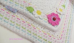 Little Ladybird Baby Blanket USA