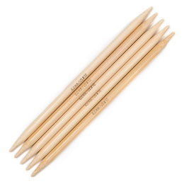 Addi Light Bamboo Double Pointed Needles 15cm