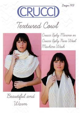 1913 Textured Cowl