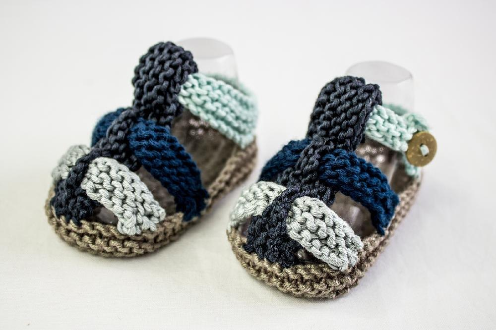 4fa609499 Baby Boys Knit Summer Sandals Knitting pattern by heaventoseven