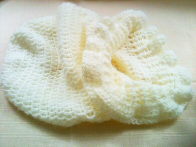 Frilled Baby Cocoon Cuddle Sack - 0008