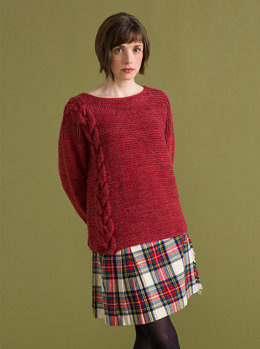 Kilkee Sweater in Classic Elite Yarns Big Liberty Wool