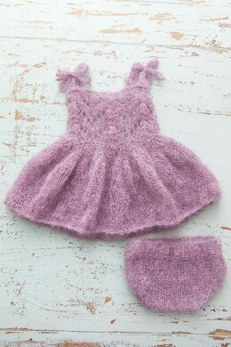 #135 Fairy dress and bloomers set