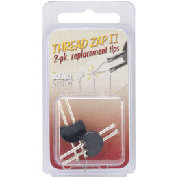 Thread Zap II Replacement Tips - Pack of 2
