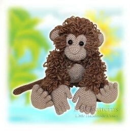 Monkey Crochet Pattern, Amigurumi Monkey Pattern, Crochet Animals