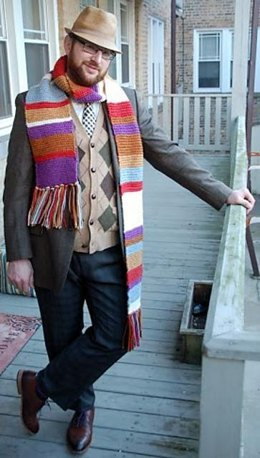 Scarf For Travelling Through Space and Time