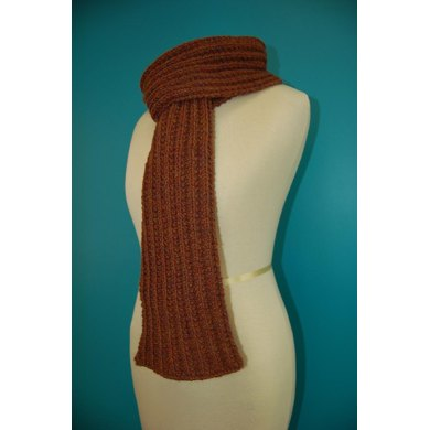 Seeded Rib Scarf