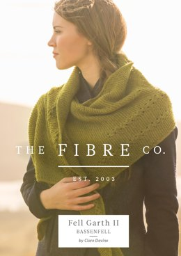 Bassenfell Shawl in The Fibre Co. Cumbria Fingering - Downloadable PDF