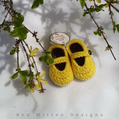Baby Daffodil Mary Jane Shoes