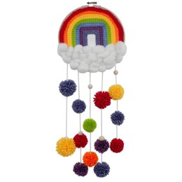 Needle Creations Wall Hanging Kit - Rainbow  - 8in x 23in