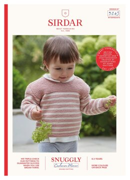 Sweater in Sirdar Snuggly Baby Cashmere Merino DK - 5243 - Downloadable PDF