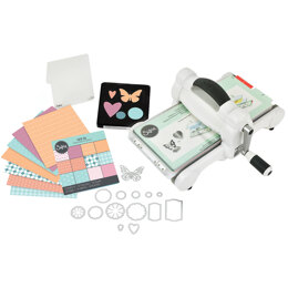 Sizzix Big Shot Starter Kit - White W/Gray