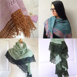 Solveig Shawl German