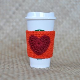 I Heart Coffee Cozy