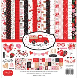 """Echo Park Paper Cupid & Co. Collection Kit 12""""X12"""""""